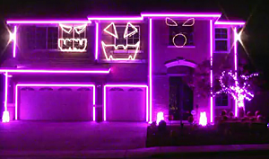 Halloween Party House