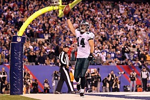 Riley Cooper #14 of the Philadelphia Eagles