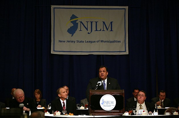 Christie - League Of Municipalities lunch