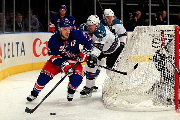 Ryan Callahan #24 of the New York Rangers