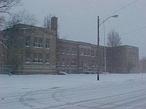 school snow