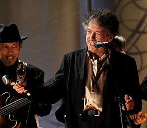 Bob Dylan Performs at The 53rd Annual GRAMMY Awards