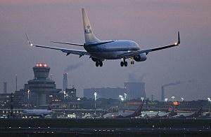 KLM Passenger Plane