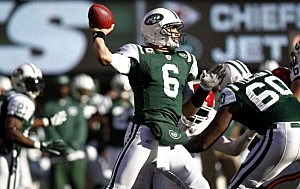 NY Jets QB Mark Sanchez