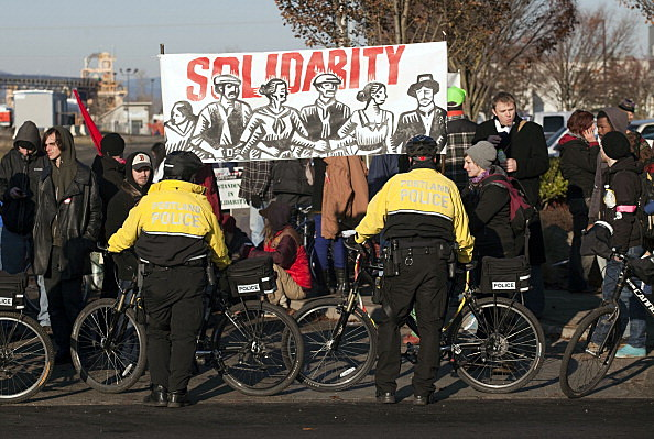Occupy Protesters Call For Blockage Of Multiple West Coast Ports