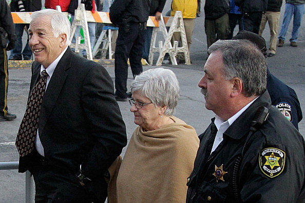 Jerry Sandusky Appears For Hearing