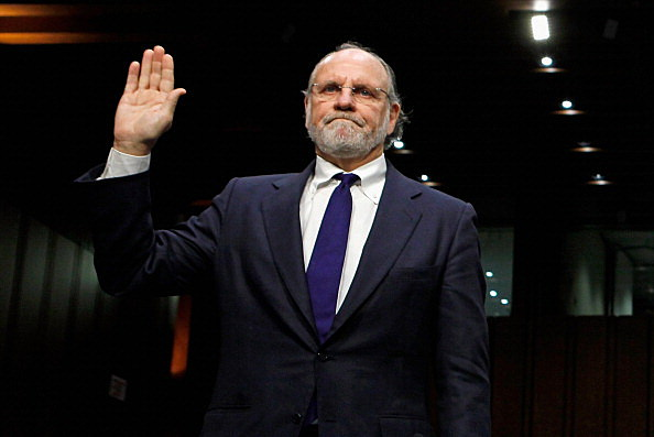 Former MF Global CEO Jon Corzine Testifies At Senate Agriculture Committee Hearing