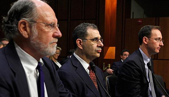 Former MF Global CEO Jon Corzine Testifies At Senate Agriculture Committee Hearing