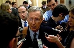 U.S. Senate Minority Leader Sen. Mitch McConnell (R-KY)