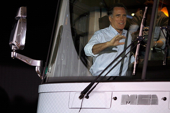 Mitt Romney Campaigns Throughout Iowa
