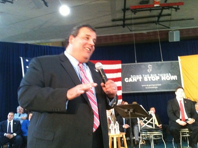 Governor Chris Christie at Town Hall