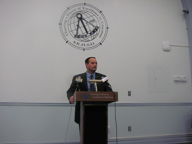 Freehold Regional High School Superintendent Charles Sampson