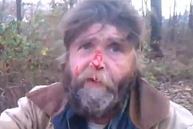 Homeless Man David Ivins