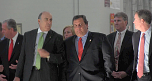 Gov. Christie at Coca-Cola event