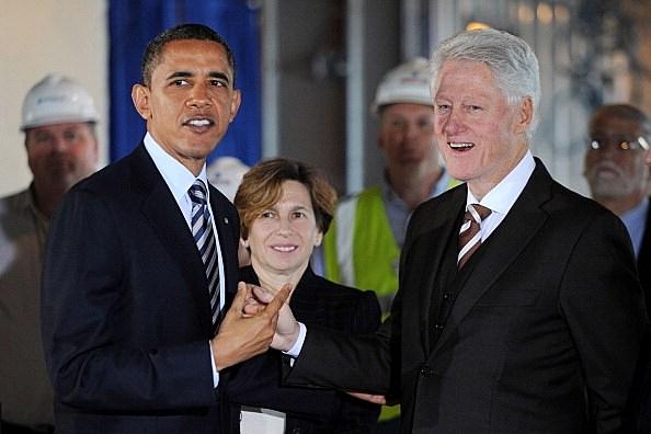 President Barack Obama/Bill Clinton