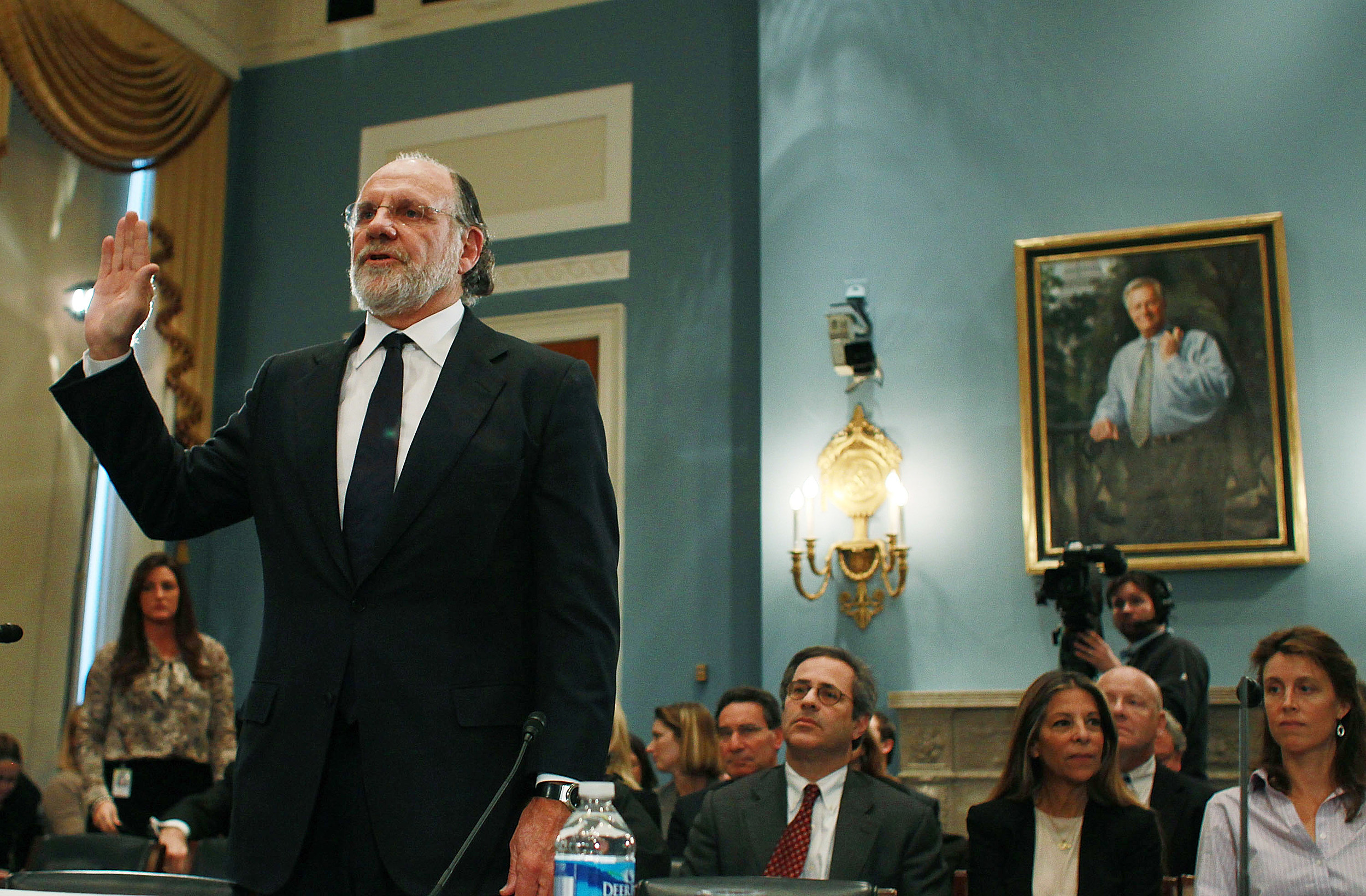 corzine pleading the 5th