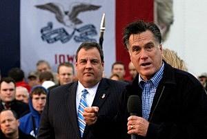 Chris Christie & Mitt Romney