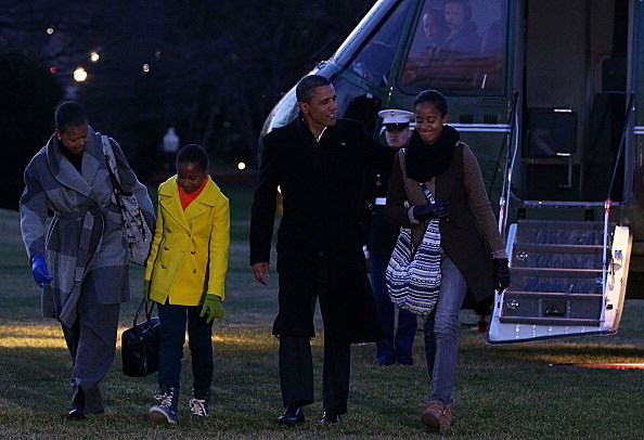 First Family returns to White House from Hawaiian vacation
