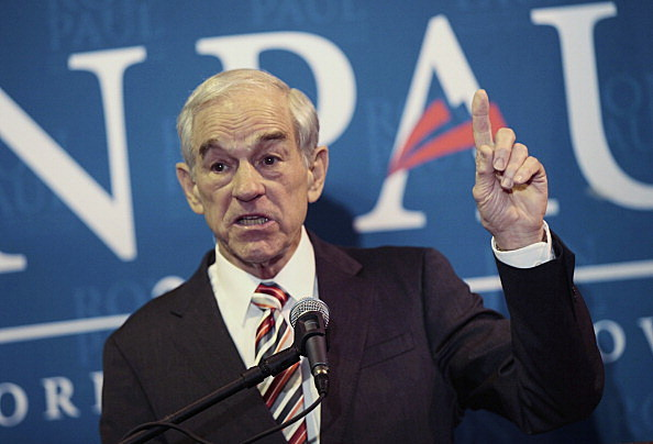 Ron Paul holds campaign rally in South Carolina
