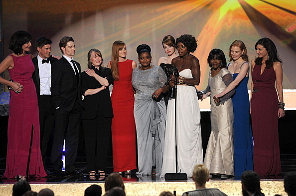 "The cast of ""The Help"" accepts the Outstanding Performance by a Cast in a Motion Picture"