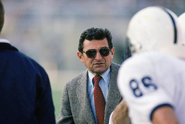 Joe Paterno in 1988