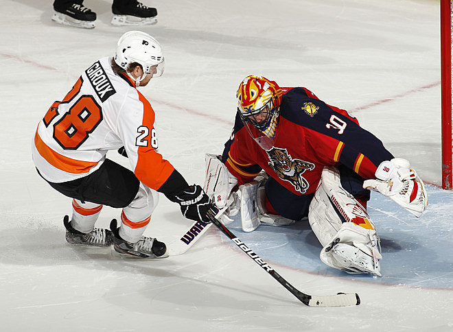 Flyers Beat Panthers In OT Shootout