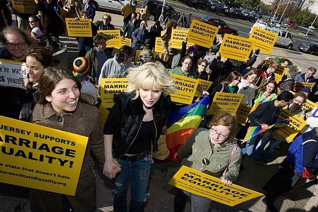 Gay Marriage Debate NJ