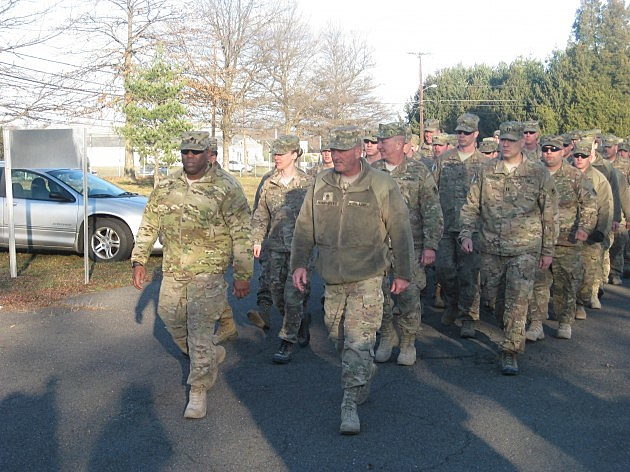 NJ National Guard  members return home