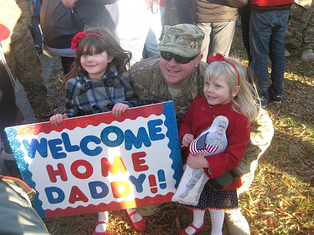 NJ National Guard  members return home