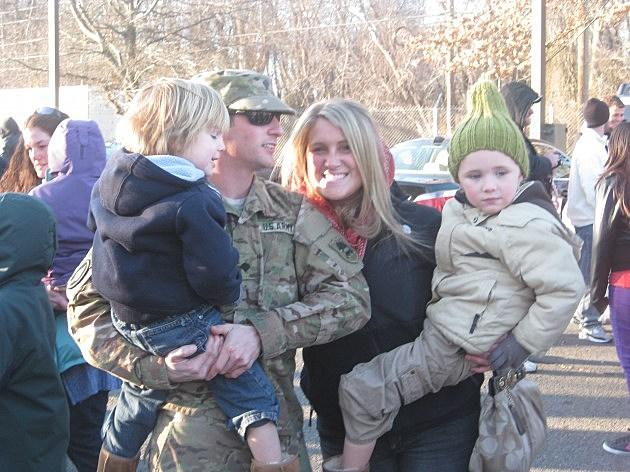 Troops Return Home