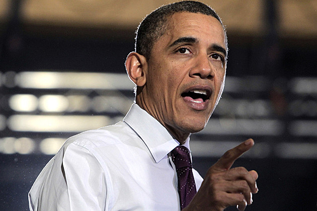 Obama Speaks Manufacturing Plant In Iowa