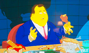 """Governor Christie on """"The Simpsons"""""""