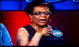 Shocked Contestant on Family Feud