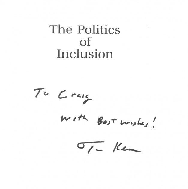 kean autograph
