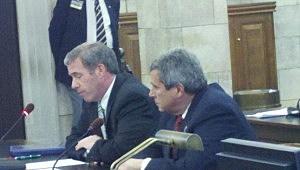 Jeff Chiesa and Senator Kip Bateman