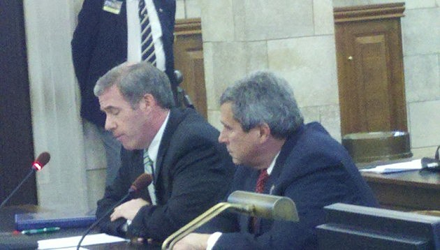 Jeff Chiesa and Senator Kip Bateman