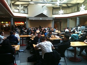 Rutgers cafeteria