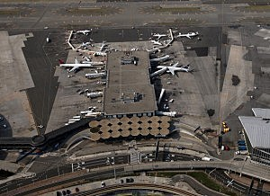 Aerial View Of John F. Kennedy Airport