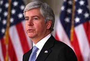 Governor Rick Snyder of Michigan