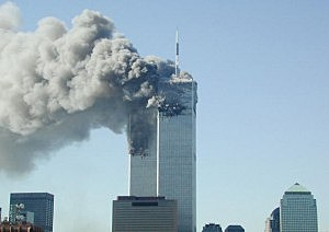 Two Planes Crash into World Trade Center