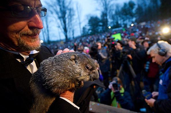 Groundhog Day in Punxsutawney, Pennsylvania