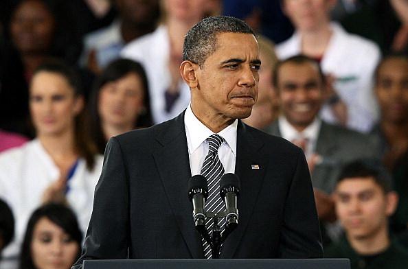 Obama Discusses 2013 budget during visit to Northern Virginia Community College In VA