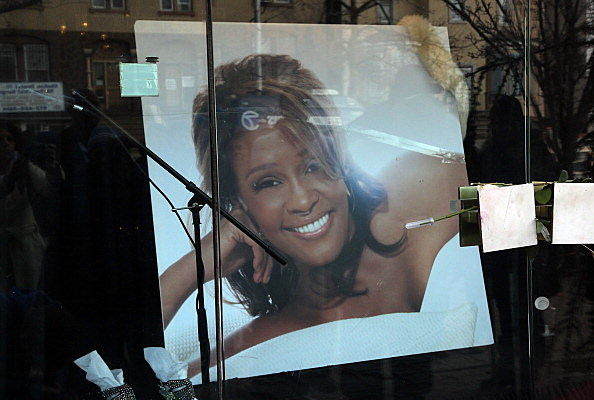 Whitney Houston portrait