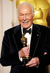 Christopher Plummer, winner of the Best Supporting Actor Award for 'Beginners,' Christopher Plummer, winner of the Best Supporting Actor Award for 'Beginners'