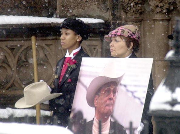 Funeral for John Houston