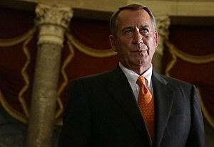 U.S. Speaker of the House Rep. John Boehner (R-OH) walks to the House Chamber