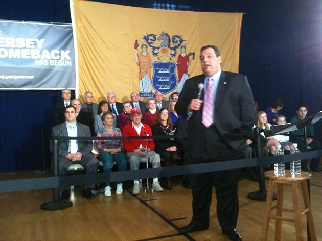 Christie Town Meeting in Caldwell