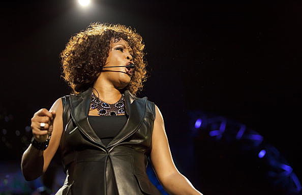 Whitney Houston in concert in Berlin, Germany in 2010
