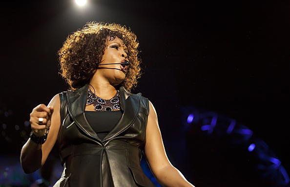 Whitney Houston in concert in Berlin, Germany in 2010