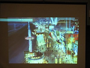 Proposed boardwalk plan in Atlantic City